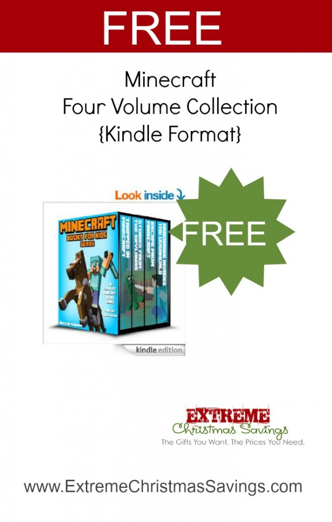 FREE! Minecraft Books for Kids: The Complete Minecraft Book Series (4 Minecraft Novels for Kids)[Kindle Edition]