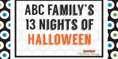 ABC Family 13 Nights of Halloween + FREE Printable Schedule!