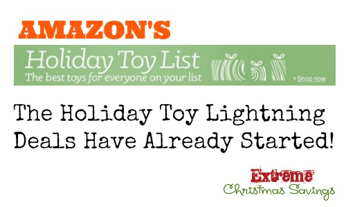 The 2015 Amazon Top Toy List has been Released- and the Lightning Deals have Already Started!