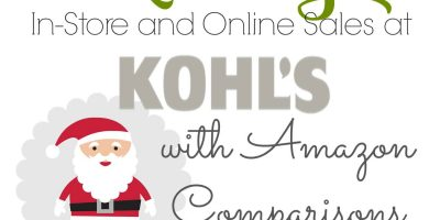 Extreme List of Kohl's Black Friday Items and Price Comparisons
