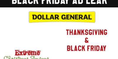 Black Friday Ad LEAK | Dollar General