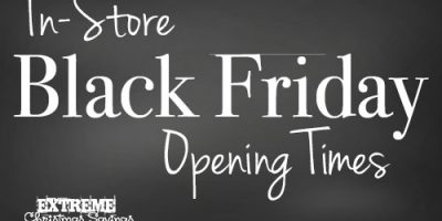 Official Black Friday Open Times {2015}