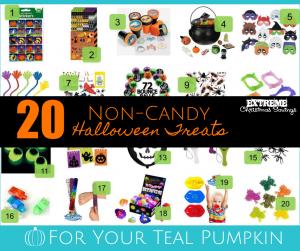Teal Pumpkin Halloween Treats