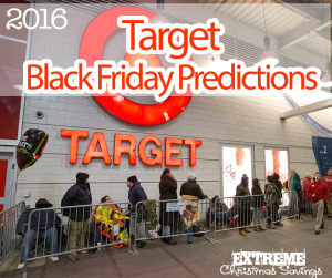 Target Black Friday Predictions