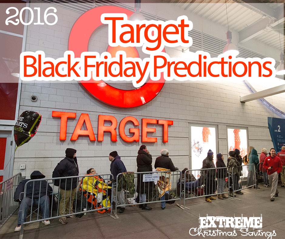Target 2016 Black Friday Predictions + How to Get Early Access to Deals!