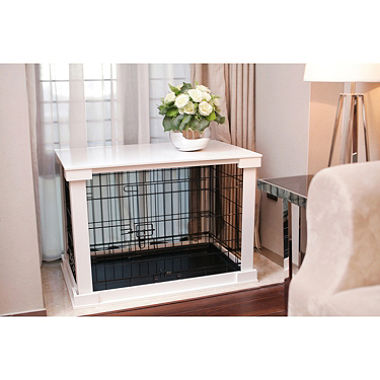Cage with Crate Cover, White, Medium $129.98 (was $194.99)