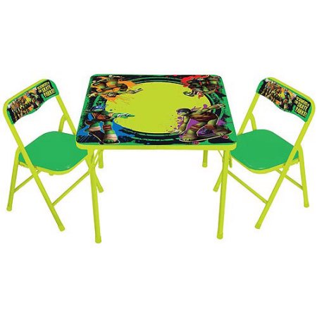 Nickelodeon Teenage Mutant Ninja Turtles Maxin & Shellaxin Erasable Activity Table Set with 3 Markers $24.99 (was $39)