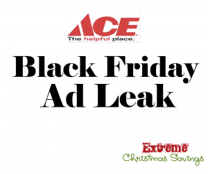 Ace Hardware Black Friday Ad Leak