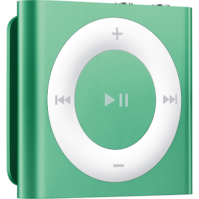 Apple iPod Mini Shuffle 2GB MP3 Player Music 4th Generation MD776LL/A Green $39.99 (was $89.99)