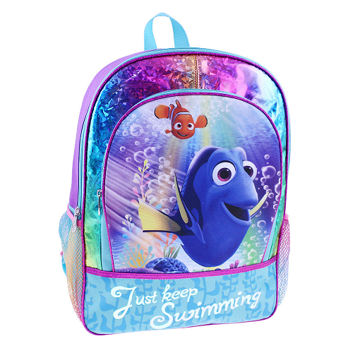 "Disney Pixar Finding Dory ""Just Keep Swimming"" 16 Inch Backpack $5.98 (was $14.99)"