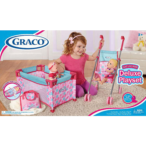 Graco Deluxe Playset $17.49 (was $34.99) Today Only