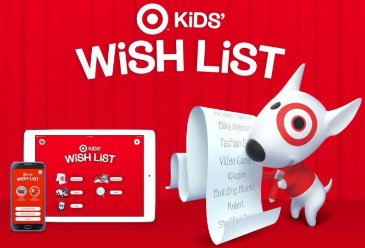 Get a 10% off Target Coupon in the Wishlist App