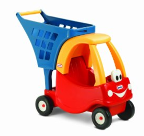 Little Tikes Cozy Coupe Shopping Cart: $22.39 (Was $40)