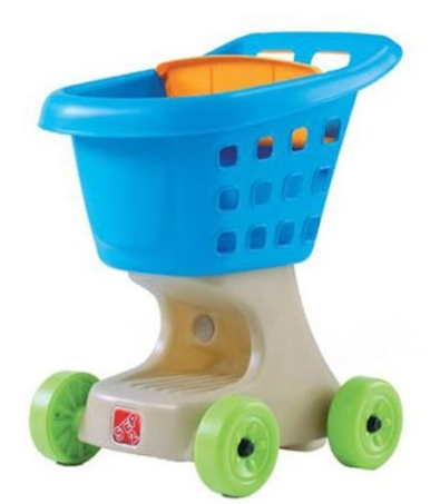 Step2 Little Helper's Shopping Cart: $20.79 (was $35)