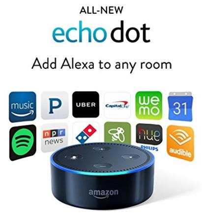 Amazon Echo Dot: $43.33 (was $50)