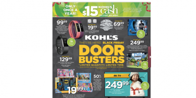 The Kohl's 2016 Black Friday Ad Ha...