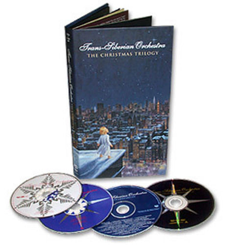 Trans-Siberian Orchestra – Christmas Trilogy 3CD 1 DVD Box Set New] $25 (was $30.12)