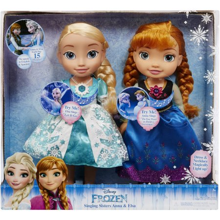 Disney Frozen Singing Sisters Elsa and Anna Dolls (Exclusive) $53.67 (was $69.97)