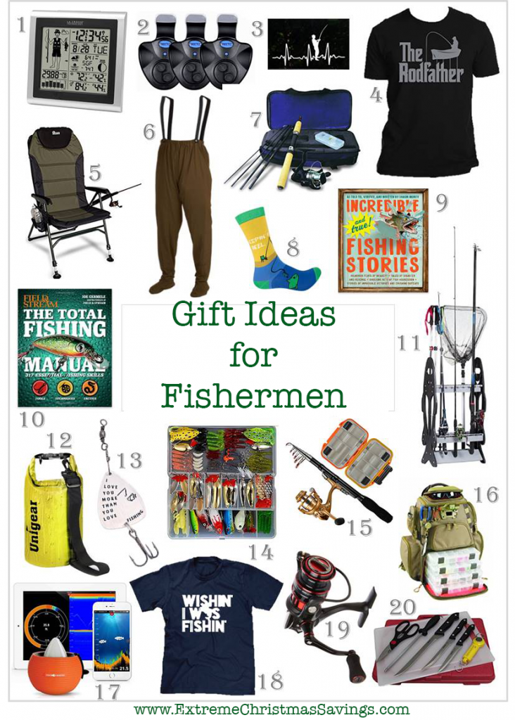 Gift Ideas for the Fisherman on Your List