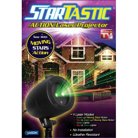 As Seen on TV Startastic Holiday Laser Light Show Projector – Motion $39.99 (was $79.99)