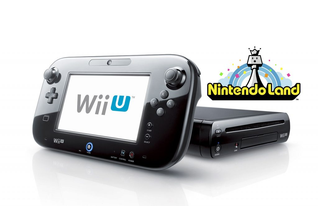 Black Wii U 32GB Deluxe + Nintendo Land – FACTORY REFURBISHED BY NINTENDO $200 (was $299.99)