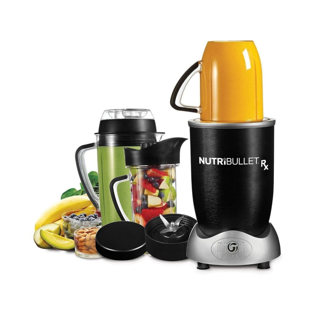 NutriBullet RX 1700-Watt 45oz Food/Juice Blender Nutri-Bullet – N17-1001- Manufacturer Refurbished $89.95 (was $179.99)