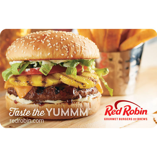 Get a $50 Red Robin Gift Card for only $40 -Email delivery