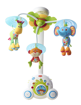 Tiny Love Soothe 'n Groove Mobile, Blue 0-24 months $30.66 (was $54.99)