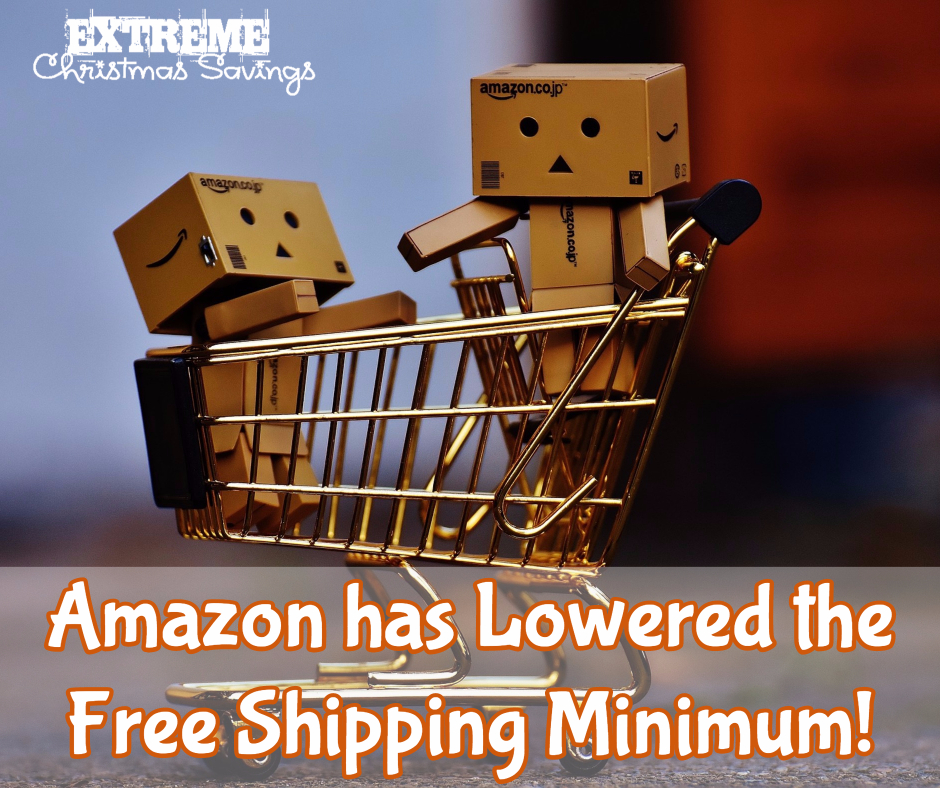 Amazon Lowers Free Shipping Minimum for Non-Prime Members
