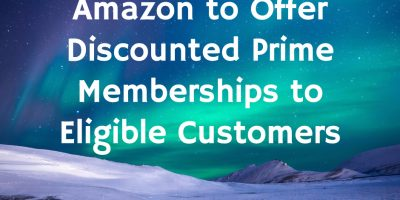 Amazon to Offer Discounted Prime Members...