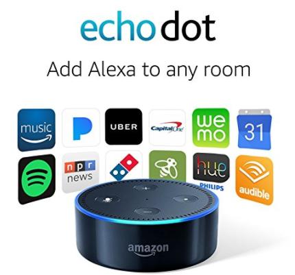 Certified Refurbished Echo Dot: $29.99 (was $45)