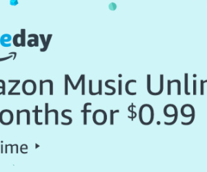 Get a 30 Day Trial of Amazon Music Unlimited