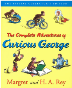 Curious George Complete Adventures (Kindle Edition): $3.99
