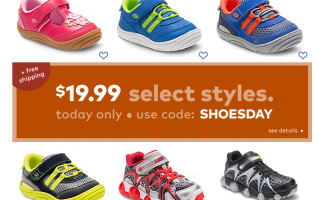 Stride Rite Shoes: $19.99 + FREE SHIPPIN...