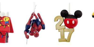 New Hallmark Ornaments just $5.99 SHIPPE...