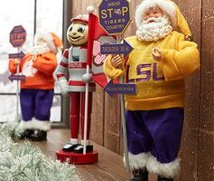 Zulily: Santa's Workshop- College Sport Ornaments, Figurines, and Nutcrackers up-to 65% off