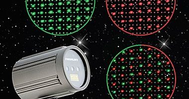 BOGO Free Red & Green Dots – Premium Laser Projection Light w/ Color Isolation & Speed Control