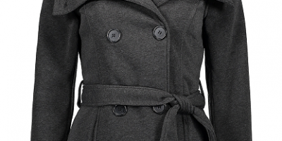 $16.79 (was $76) Belted Sherpa-Lined Coa...