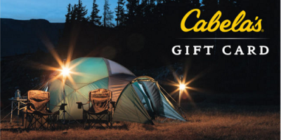 Pay $82 for A $100 Cabela's Gift C...