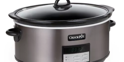 $34.99 (was $69.99) Crock-Pot 8-qt. Blac...