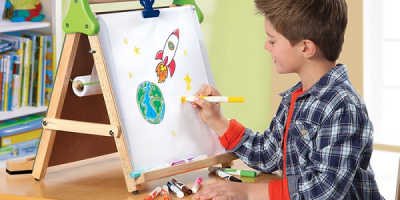 Discovery Kids 3-in-1 Tabletop Easel $24...