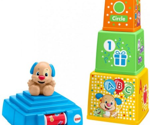 Fisher-Price Laugh & Learn Stack & Surprise Presents $9.98 (was $24.09)