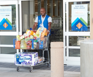 WOW! Get $15 off of your first $50 Sam's Club Pickup!