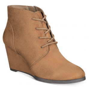 Wedge Bootie Deal