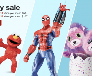 New Target Toy Coupons | $10 off of $50 or $25 off of $100!!