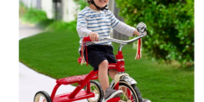 Radio Flyer 12 in. Classic Red Tricycle:...
