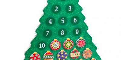 $11.99 (was $20) Melissa & Doug Countdown to Christmas Advent Calendar
