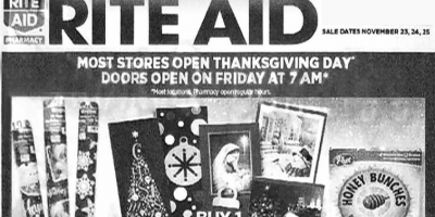 Black Friday Ad Leak: Rite Aid