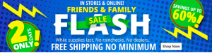 Bass Pro Friends and Family Sale Free Shipping