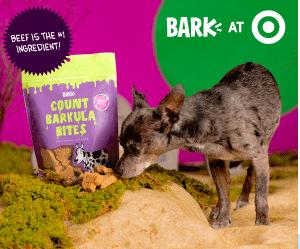 Target: Up to 75% off BARK Dog Treats
